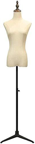 JinSui Maniqui Regulable Costura Maniqui Soporte de exhibición de la joyería de la Ropa del diseñador de la Forma del Vestido del Cuerpo del Torso del maniquí Femenino Profesional