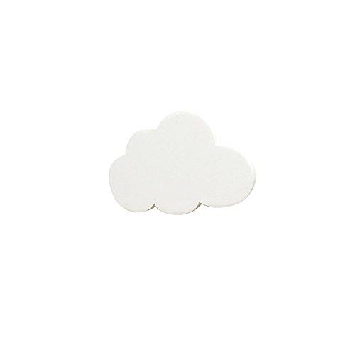 Hacoly klebehaken Haken Selbstklebend Stark Handtuchhaken Handtuch Kleiderhaken Ohne Bohren Wolke Robe Haken Wandhaken Für Wände Garderobe Tür Badezimmer Küche Dekoration-Wei?
