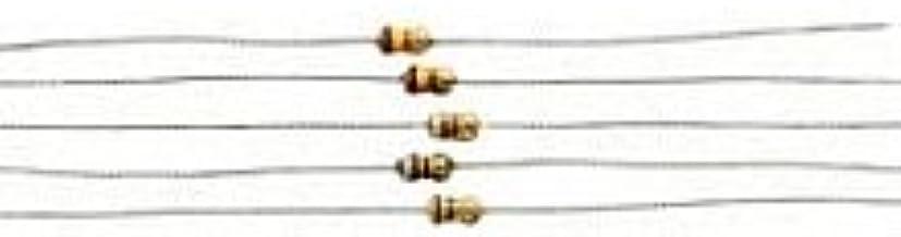 5-Pack 1//2W 5/% Carbon Film Resistor 10 Ohm