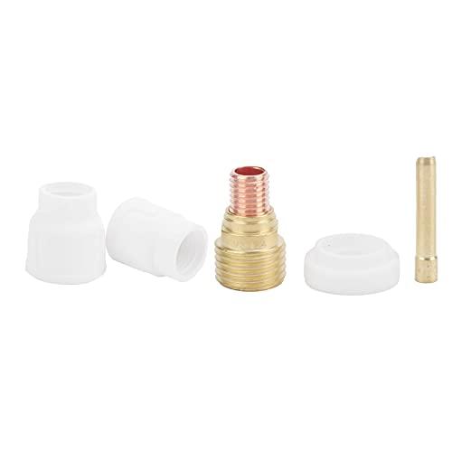 Sistema de taza de soldadura de cerámica, lente de aire de soldadura de taza de soldadura de cerámica para pistola de soldadura por arco