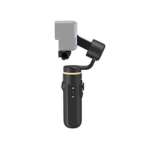Docooler Falcon Handheld 3-Achsen-Actionkamera Gimbal Stabilizer Anti-Shake Wireless-Steuerung Vertikale/horizontale Zeitrafferaufnahme mit Mini-Stativ Ersatz für GoPro Hero 9/8/7/6/5 OSMO Action