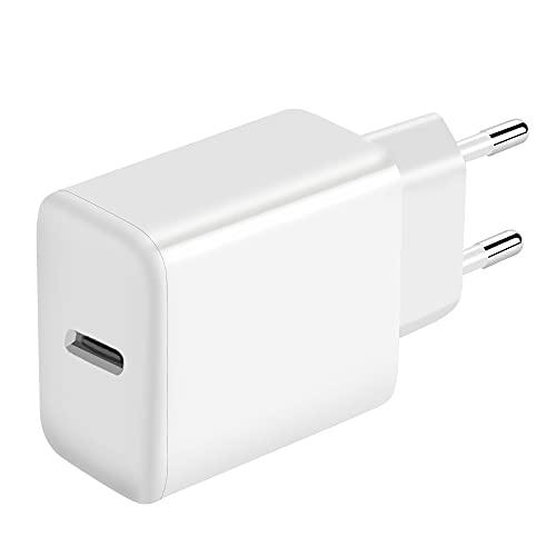 MEROM Cargador Tipo c 20W Power Delivery3.0 para i Phone 12 Mini Pro Pro MAX 11 Pro Pro MAX X XS XS MAX XR SE Fuente de Alimentación Ricarica Rapida Adaptador Alimentación Type c USB