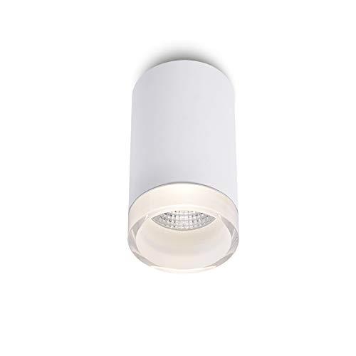 GYZLZZB 8W Bianco Downlight Downlight Design creativo Design in acrilico Elevata trasmissione luminosa PANNOCCHIA Lampada da soffitto CRI90 36 ° Angolo del fascio luminoso PORTATO Faretto a montaggio
