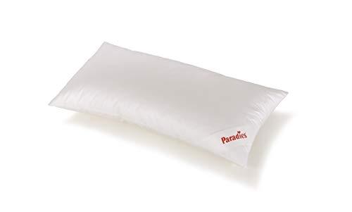 PARADIES Kissen Kopfkissen 40 x 80 cm Softy Top Bio, Öko-Tex Zertifiziert Standard 100 Klasse 1, medizinisch getestet, Schlafkissen mit Reißverschluss