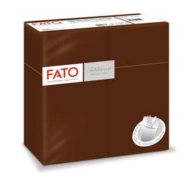 FATO Pack de 50 Quick Pocket Cacao Línea Airlaid 40 x 40 cm