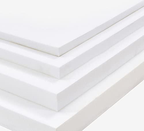 MOTT Espuma de repuesto gruesa para cojín de asiento de sofá, espuma de tapicería de alta densidad, cojín de asiento de banco de espuma para muebles de interior