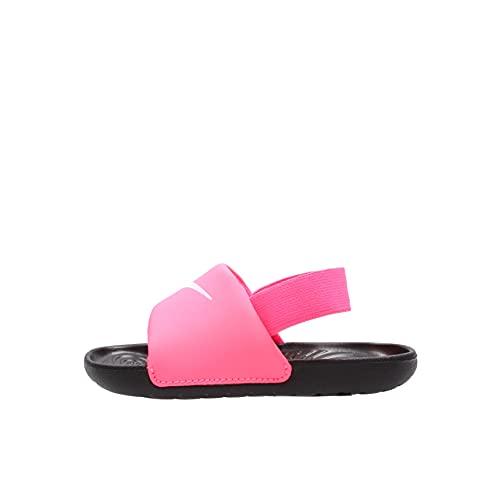 Nike Kawa, Scarpe da Ginnastica, Digital Pink/White-Black, 18.5 EU