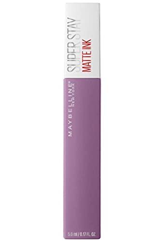 Maybelline New York Super Stay Matte Ink Lippenstift Nr. 100 Philosoph, flüssiger Lippenstift, langanhaltend, mattes Finish