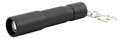ANSMANN Mini lampe de poche LED T60F pour porte-clés avec pile AAA – Lampe pratique focalisable, portée de 60 m, 800 lux – 3 W idéale pour les enfants, le camping, l'extérieur et le sac à main