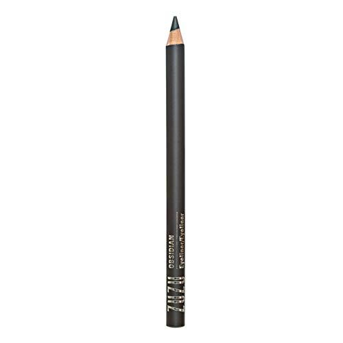 Zuzu Luxe Eyeliner (Obsidian),0.04 oz,Eye Defining Pencil, Infused with Jojoba Seed Oil, Super Smooth formula glides on to define eyes. Natural, Paraben Free,Vegan, Gluten-free, Cruelty- free,Non GMO.