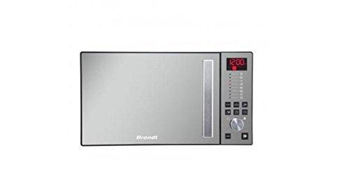 Brandt SE2616B Comptoir 26L 900W Noir, Argent micro-onde - Micro-ondes (Comptoir, 26 L, 900 W, boutons, Rotatif, Noir, Argent, 32 cm)