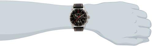 Victorinox Swiss Army - 241444 - Montre Homme - Quartz Analogique - Bracelet Cuir Noir