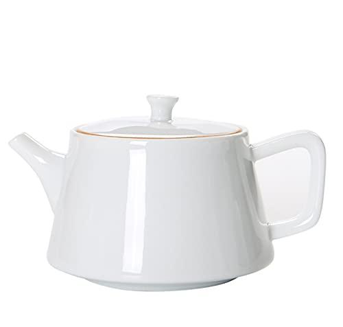 Juego de té de Kung Fu, pintado a mano, porcelana blanca, té filtrado, olla de salud, olla individual de cerámica, 180 ml