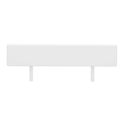 Steens Absturzsicherung für das Kinderbett, 80 x 21 x 3 cm (B/H/T), MDF Holz, weiß, nachträglich montierbar
