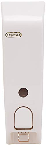 Better Living Products Classic Dispenser I One Chamber Shower Dispenser, White