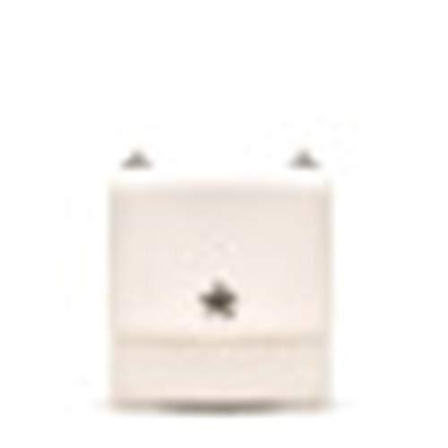 KDJDH Kleine Quadratische Tasche Dual-Use-Tasche Transparent Perlen Tragbare Mini-Umhängetasche Handtasche Tasche Weiß OneSize