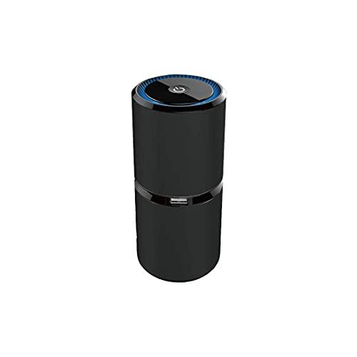 ZUIZUI Almohadilla de enfriamiento del Enfriador del portátil de Juego, 2 Ventiladores tranquilos, Ajuste de 5 Alturas, 2 Puertos USB y luz LED Azul