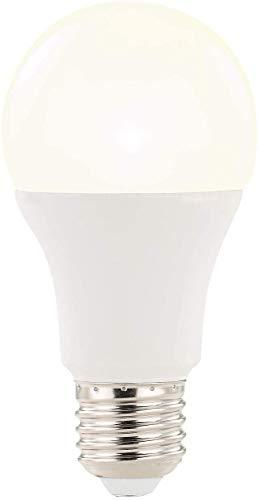 Luminea Radarlampe: LED-Lampe mit Radar-Bewegungssensor, 12 W, E27, warmweiß, 3000 K (Glühbirne mit Bewegungsmelder)
