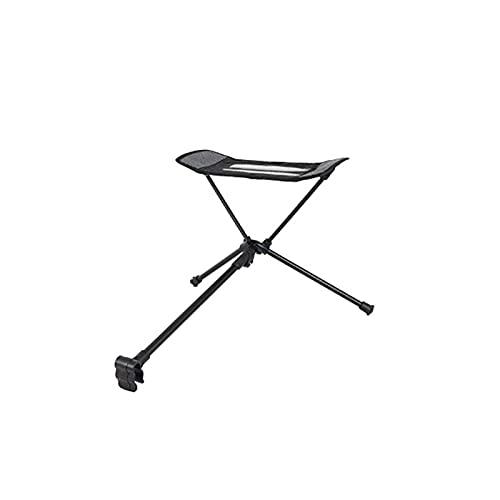 N\C Cómodo reposapiés para Silla de Playa, Accesorios para sillas de Camping Plegables portátiles, trípode de Ocio, Adecuado para Tomar el Sol, Ocio