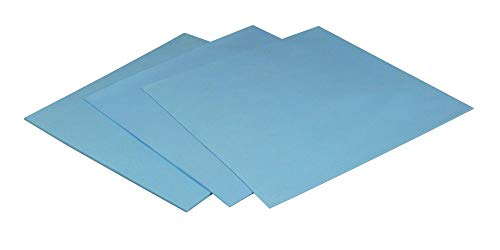 ARCTIC Thermal Pad, Paquete de 1 (50 x 50 x 0,5 mm) - Disipador térmico basado en Silicona con 6,0 W/MK Conductividad térmica y dureza Especialmente Reducida - Azul