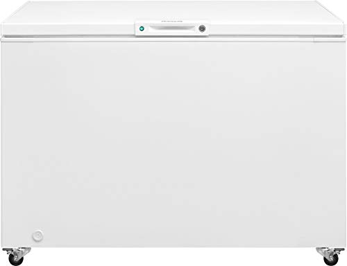 Frigidaire FFFC13M4TW Freezer with 12.8 cu. ft. Capacity, White Door,...