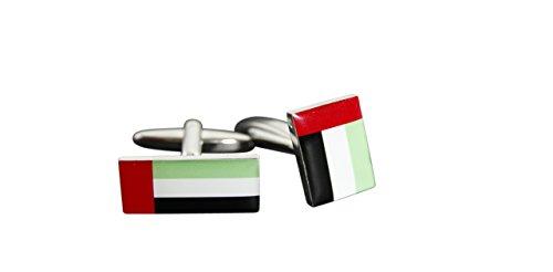 Flaggenfritze® Manschettenknöpfe Fahne / Flagge Vereinigte Arabische Emirate