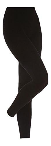 Heat Holders - Legging - - Uni Femme Multicolore Bigarré - petit, Noir - Noir
