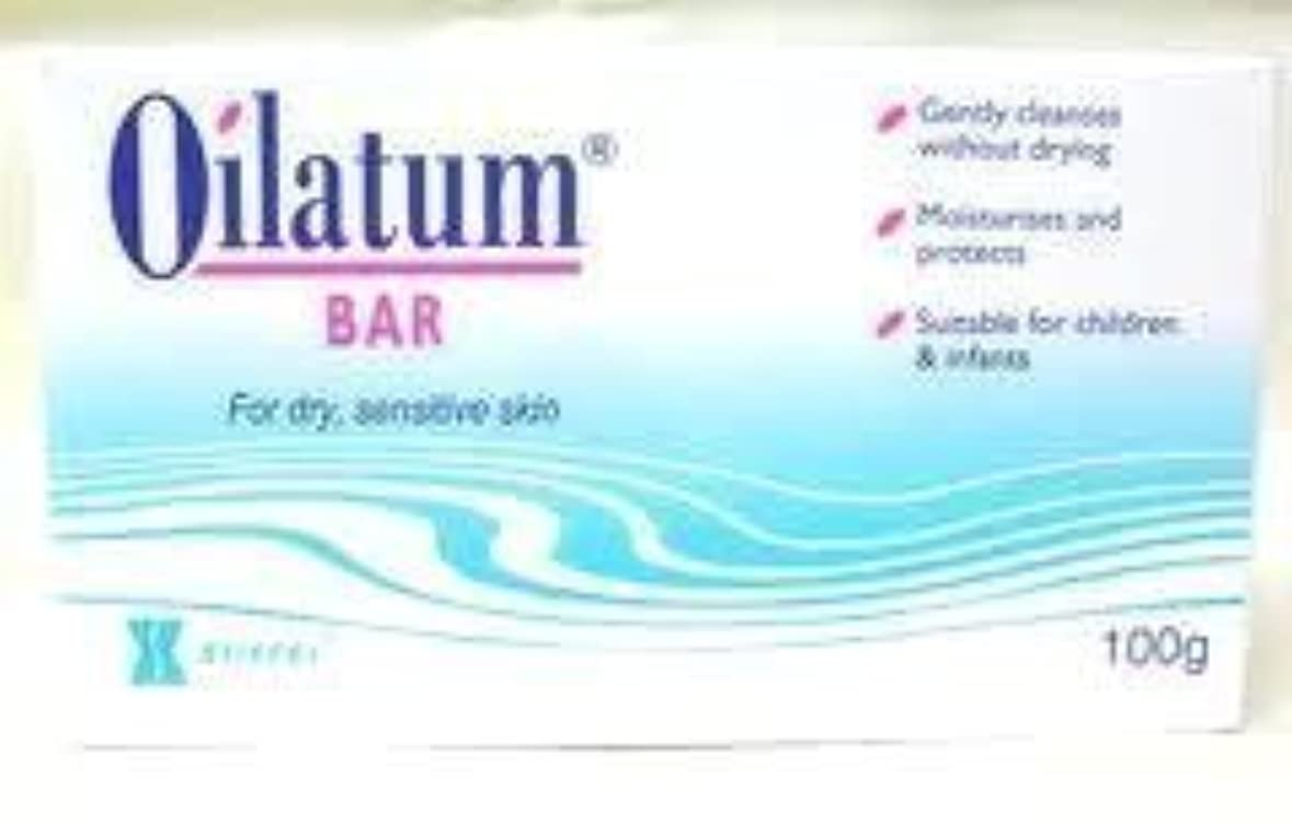 複合フィードオンダブル2 Packs Oilatum Bar Soap for Sensitive Soap Skin Free Shipping 100g. by Oilatum