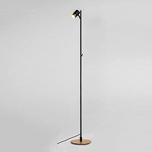 XHPC Lámpara de Piso Cromado Vintage Retro Piso Luz de Trab