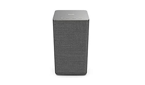 Philips W6205/10 Multi-room Altoparlante Wi-Fi Wireless per Casa (40 W, Compatibile con DTS Play-Fi e con Assistenti Vocali, LED Integrato, Ambilight, Audio Stereo) - Modello 2020/2021, 40 watt