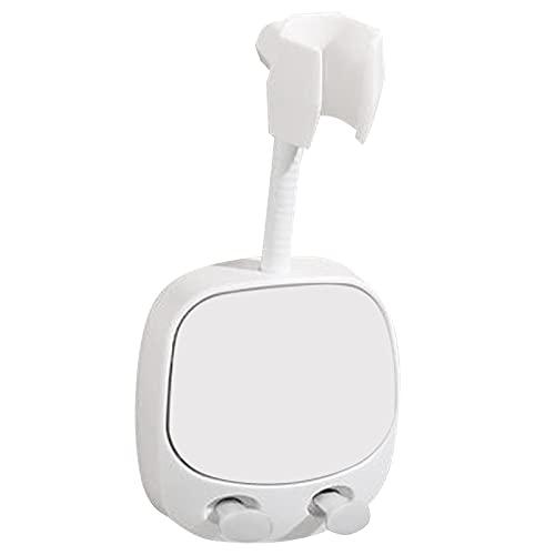 YOLOPLUS+ 1 soporte adhesivo fuerte para cabezal de ducha de mano, soporte de pared, cabezal de ducha y soporte de rociador de bidé para baño o bañera, puede girar 360 °...
