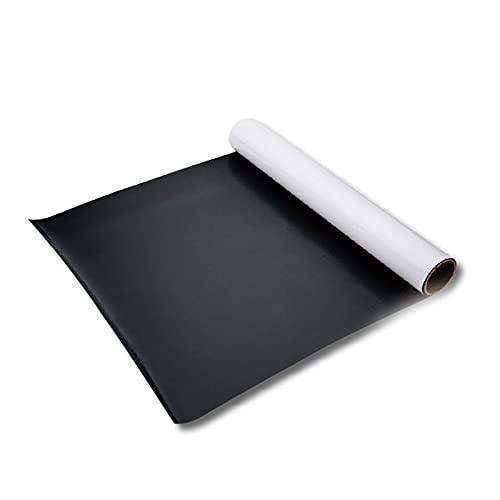Reescribible colgando a domicilio tablero de enseñanza magnético pizarra pegatina de pared autoadhesiva pequeña clase blanca (Size : 120 * 90cm)