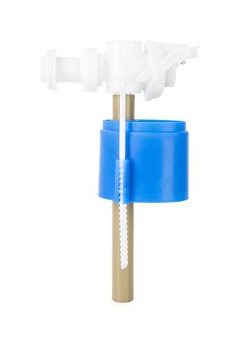 ADGO Válvula de llenado Lateral Universal 1/2 Cisterna WC Tanque, Válvula de Flotador para Cisternas de Plástico y Cerámica, 1 pieza