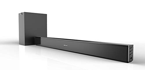 Mulo Arena 5000 2.1 Channel Soundbar with Subwoofer,Bluetooth/AUX-in/USB, Remote Control and Wall...