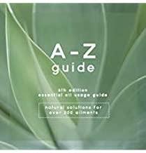 essential oil usage guide az booklet