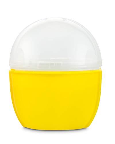 Durandal Eierkocher Mikrowelle | Crackin' Egg Mikrowellen Eierkocher | Ideal zum pochieren & als Omelettmaker | 100% BPA frei | Wichtelgeschenk unter 10 Euro