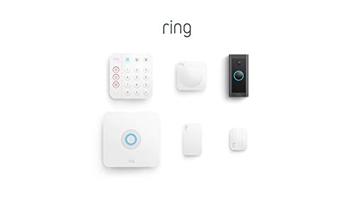 【34% OFF】 - Ring Alarm 5-Piece Kit (2nd Gen) bundle with Ring Video Doorbell Wired