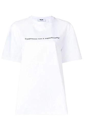 MSGM T-Shirt mit Frase X-Small