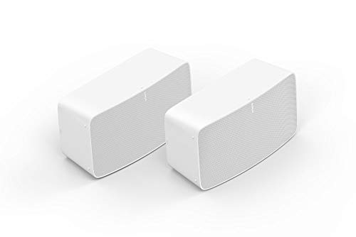 Sonos Five Two Room Set - The high-Fidelity Speaker for Superior Sound - White