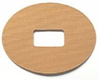 GrifGrips Oval Sports Adhesive Patch for Dexcom - Pack of 20 in Tan
