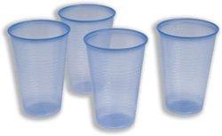 Robinson Young Water Cups Plastic Non-vending voor koude dranken 20cl blauw Ref 2193N [Pack 1000]