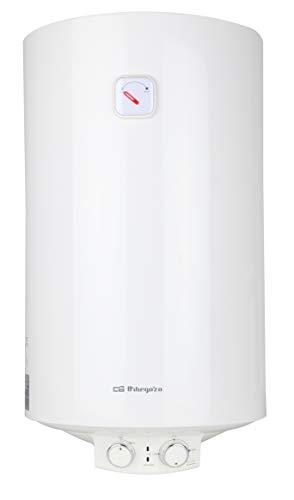 Orbegozo TRM 54 Elektrische thermoskan, 50 l, eco-modus, geëmailleerde container, thermostaat, regelbaar, 1500 W vermogen