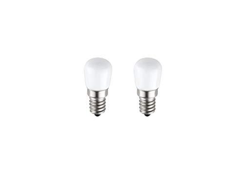 SET di 2 LAMPADINE LED Special T26 E14 PEGASO, 3.5W 280 Lumen, per Frigorifero, Cappa, Lampada da Tavolo, LUCE NATURALE 4000K