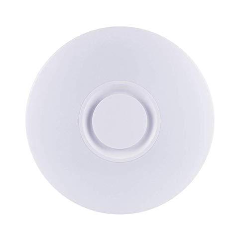Yangmanini Smart Bluetooth Music Lámpara de techo Teléfono móvil Control remoto LED Dormitorio redondo Iluminación de la habitación de los niños