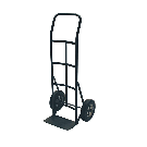 Milwaukee 600 lb. Capacity Flow Back Solid Tire Hand Truck-HT700 - The Home Depot