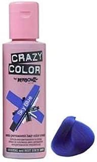 Crazy Color Semi Permanent Hair Dye - Blue