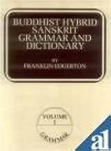 Buddhist Hybrid Sanskrit Grammar and Dictionary - 2 Vol Set