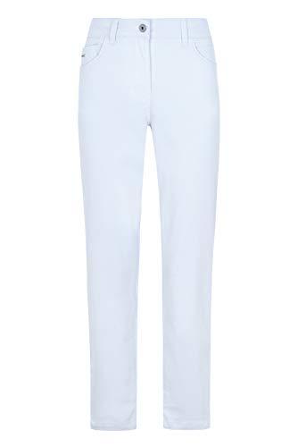 Million X Damen Jeans Rita 7/8 Zip 44, White