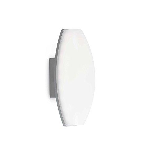Faro Barcelona 70819 - BACO Aplique (bombilla incluida) LED, 6W, cuerpo de metal y difusor de policarbonato opal, color blanco