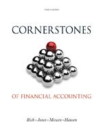 Bundle: Cornerstones of Financial Accounting (With 2011 Annual Reports: Under Armour, Inc. & Vf Corporation), 3rd + Gene
